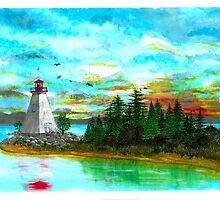 Kidston Island Lighthouse - www.jbjon.com by Jonathan Baldock