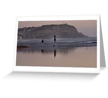 Merewether Baths - Togs Delight Greeting Card