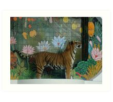 Siegfried and Roys Tiger Art Print