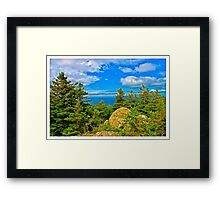 Cape Breton Highlands National Park, Nova Scotia, Canada - www.jbjon.com Framed Print