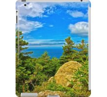 Cape Breton Highlands National Park, Nova Scotia, Canada - www.jbjon.com iPad Case/Skin