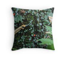 Forest Floor  Throw Pillow