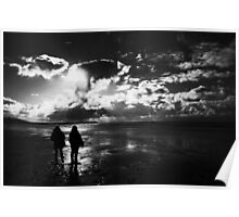 Dramatic Skies - Freshwater West Poster