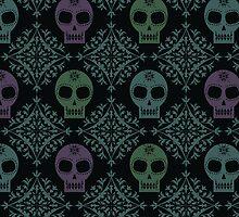 Candy Skulls by Mariah Peek