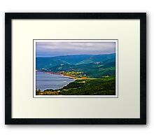 Overlooking Pleasant Cove, Nova Scotia - www.jbjon.com Framed Print