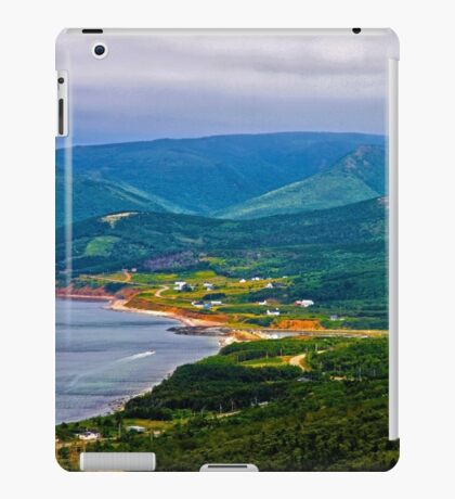 Overlooking Pleasant Cove, Nova Scotia - www.jbjon.com iPad Case/Skin