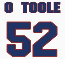 National baseball player Denny O'Toole jersey 52 by imsport
