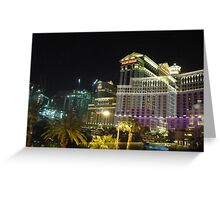REFLECTIONS OF VEGAS Greeting Card
