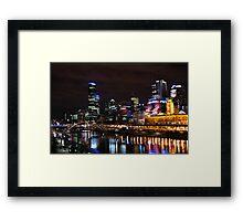 Yarra River Framed Print