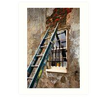 Charleston Brick Work Art Print