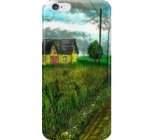 The Yellow Farmhouse - www.jbjon.com iPhone Case/Skin