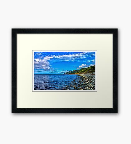 Cape Breton Island, Nova Scotia, Canada - www.jbjon.com Framed Print