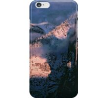 HALFDOME AND CATHEDRAL SPIRE iPhone Case/Skin