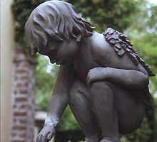 Charleston Garden Angel by Benjamin Padgett