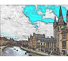 Ghent Photographic Print