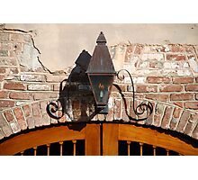 Queen Street Gas Lamp #3 Photographic Print