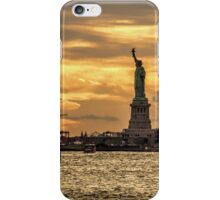 Sailing to Liberty iPhone Case/Skin