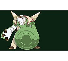 Armed and Scarred Chesnaught Photographic Print