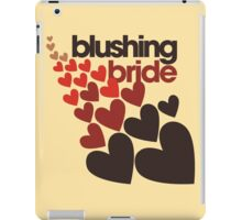 Blushing bride iPad Case/Skin