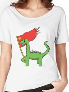 Working Class Dino Women's Relaxed Fit T-Shirt