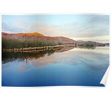 Derwent Water Sunrise Poster
