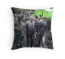 Movie Set Aftermarth Throw Pillow