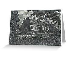 Fallingbrook Farm House - www.jbjon.com Greeting Card