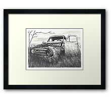 Abandoned Car - www.jbjon.com Framed Print