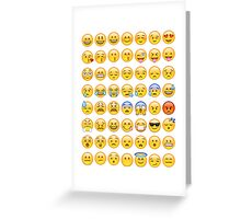EMOJI Greeting Card
