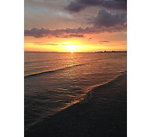 Sunset on the Gulf Photographic Print