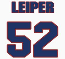 National baseball player Dave Leiper jersey 52 by imsport
