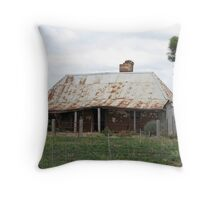 Hidden in the vineyards Throw Pillow