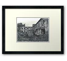 Abandoned Barber Paper Mill - www.jbjon.com Framed Print