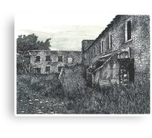 Abandoned Barber Paper Mill - www.jbjon.com Canvas Print