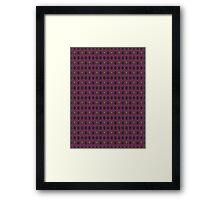 Killer Queen pattern Framed Print