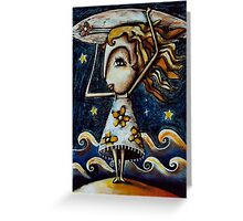 Titian Blonde Greeting Card