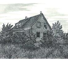 Abandoned Blues Mills Farmhouse - www.jbjon.com by Jonathan Baldock