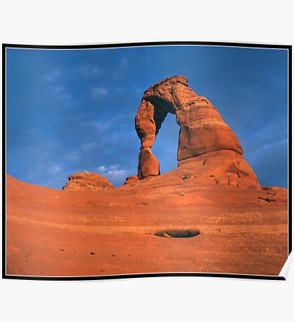 Delicate Arch Poster