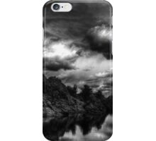 Storm in the Dells Monochrome iPhone Case/Skin