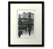 Wilderness Reflections - www.jbjon.com Framed Print