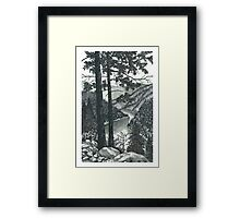 Mountain Top Vista - www.jbjon.com Framed Print