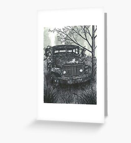 Abandoned Old Truck - www.jbjon.com Greeting Card
