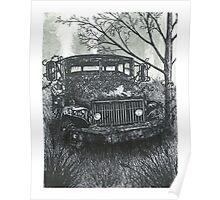 Abandoned Old Truck - www.jbjon.com Poster