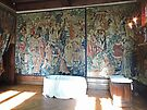 Tapestry, Kasteel van Gaasbeek, Belgium by Margaret  Hyde