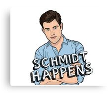 Schmidt Happens Canvas Print