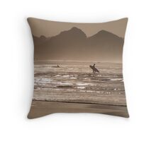 surftastic watergate bay! Throw Pillow