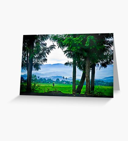 Did I also mention Rwanda is beautiful? Greeting Card