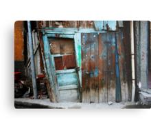 Falling Door Metal Print
