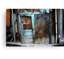 Falling Door Canvas Print