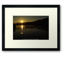 Pittsburgh Morning Sunrise Framed Print